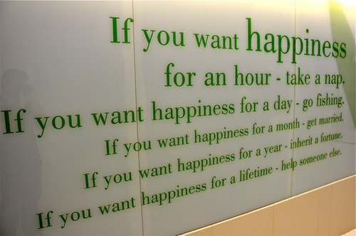 if-you-want-happiness